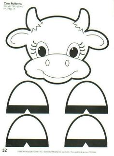 Pattern Letter D Crafts, Bible Crafts, Fun Crafts, Infant Activities, Craft Activities, Animal Cutouts, Farm Animal Crafts, Paper Bag Puppets, Baby Applique
