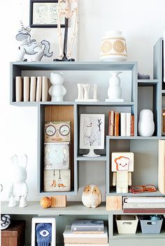 Clever DIY Display Unit + Lovely Dutch Home by decor8, via Flickr