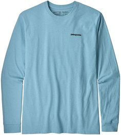 bd2c93618 Patagonia Men's Shop Sticker Responsibili-Tee T-Shirt Dolomite Blue ...