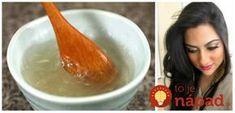 Maska na objem, silu a lesk vlasov: Žiadna chémia a porastú omnoho rýchlejšie! Hair Beauty, Rast Vlasov, Cooking, Tableware, Chemistry, Kitchen, Dinnerware, Tablewares, Dishes