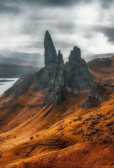 The Storr, Scotland - by Max Taylor Grant