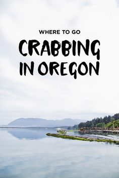 How to Go Crabbing in Oregon // Local Adventurer Want to know when, where, and how to crab on the Oregon coast? Check out our essential guide on how to go crabbing in Oregon. Oregon Travel, Travel Usa, Oregon Coast Roadtrip, Travel Portland, Oregon Vacation, Beach Travel, Canada Travel, Nehalem Bay, Pacific Northwest