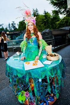 Night at the Aquarium 2012  sc 1 st  Pinterest & Go Overboard With DIY Aquatic Themed Costumes | Pinterest | Diy ...