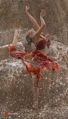 Joy of Dancing in the rain...
