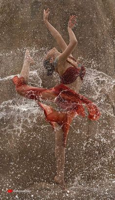 Joy of Dancing in the rain...