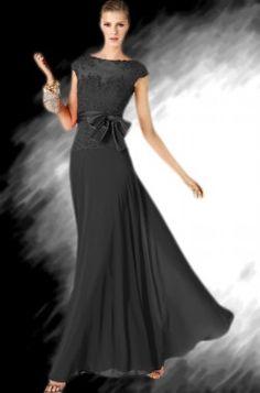 שמלת ערב שחורה P816