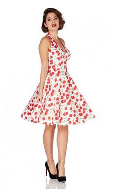 Voodoo Vixen Cherry dress @www.beaudelicious.be