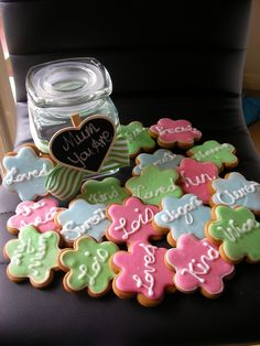Mothers Day gingerbread cookies I made - YOU ARE - loved, kind, wise, precious, elegant, sweet etc