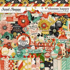 {Choose Happy} Digital Scrapbook Kit by Digilicious Design & Tickled Pink Studio available at Sweet Shoppe Designs http://www.sweetshoppedesigns.com/sweetshoppe/product.php?productid=29600&cat=0&page=1 #digiscrap #digitalscrapbooking #digiliciousdesign