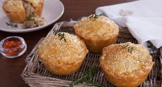 Wow your winter guests with these flavoursome Chicken Leek Bacon Pies.  Thanks to Effie See White for the recipe.  #pie #chicken #recipe
