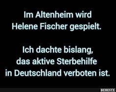 Im Altenheim wird Helene Fischer gespielt..