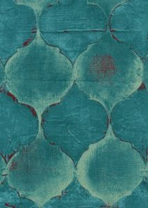 You will receive 1 yard of Laura Gunn Tile Mosaic in Turquoise from her Lantern Bloom Line of designer fabrics for Michael Miller. Textures Patterns, Color Patterns, Motif Art Deco, Atelier D Art, Shades Of Teal, Modern Fabric, Mosaic Tiles, Teal Tiles, My Favorite Color