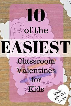 Diy Crayon Classroom Valentines With Cricut Explore Air 2