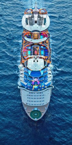 Symphony of the Seas, a perception remixing, memory maxing mic drop. Our newest, biggest cruise ship with all the greatest hits, plus revolutionary new firsts. Biggest Cruise Ship, Best Cruise Ships, Disney Cruise Ships, Royal Caribbean Ships, Royal Caribbean Cruise, Cruise Ship Pictures, Symphony Of The Seas, Royal Caribbean International, Holiday Resort