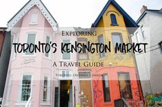 Exploring Toronto's Kensington Market Neighbourhood: A Travel Guide – Brittany's Adventures Canada Travel, Us Travel, Travel Guide, Canada Trip, East Coast Road Trip, Toronto Travel, Toronto Canada, Staycation, Great Places