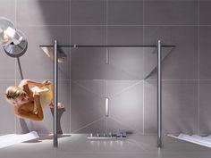 Ein erfrischender Shower ist für die meisten der Muntermacher des Tages. Deshalb wird die Badindustrie nicht müde, Brausen, Duschwände und Ablaufsysteme immer komfortabler zu gestalten. Prickelnde Neuheiten fürs Spa-Feeling zu Hause.