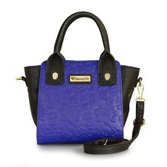 Loungefly Blue Skull Embossed Crossbody Bag - Totes - Bags