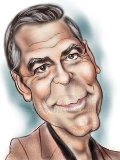 George+Clooney+by+adavis57.deviantart.com+on+@DeviantArt