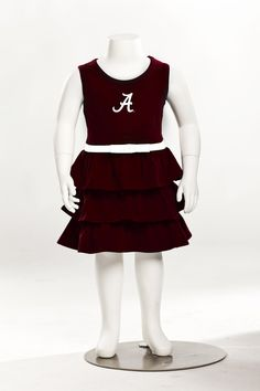 Alabama Crimson Tide Girls Dress - Giveaway Alert: Enter to win a Women's Babydoll Sundress and a matching girls dress by chicka-d in your NCAA team of choice (*subject to availability). Click to enter to win by Friday, August 24!