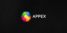 Rainbow Dodecahedron Logo: Appex logo