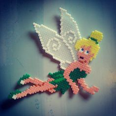 Disney Tinker Bell hama mini beads by katherineabbots
