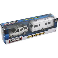 Car And Caravan - Assorted | Toy Cars at The Works £5 | #Christmas #StockingFillers