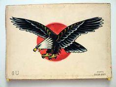 Sailor Jerry Tattoo Flash Eagle