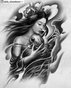 Able Slowdown ( Arm Cover Up Tattoos, Full Arm Tattoos, Body Art Tattoos, Girl Tattoos, Hand Tattoos, Japanese Geisha Tattoo, Japanese Tattoo Designs, Japanese Sleeve Tattoos, Geisha Tattoo Design