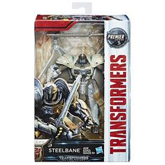 Transformers The Last Knight Premier Edition Deluxe Steelbane Transformers Action Figures, Hasbro Transformers, Toy Story Buzz Lightyear, Last Knights, Age, Thundercats, Paramount Pictures, Disney Toys, Movie Characters