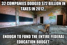 Does anyone really have to ask how to start to fix the economy??!!