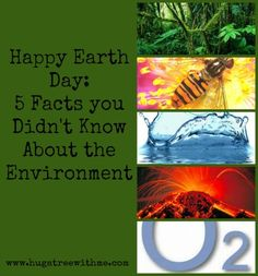 Happy Earth Day – 5 Facts you Didn't Know About the Environment #greenup