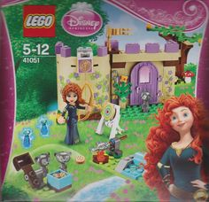 LEGO Disney Princess - Set 41051 - Merida Highland Games  I'd give the minifigs to my child though. I hate the Friends-style people and animals.