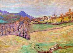 View of Saint-Sauves, Armand Guillaumin oil on canvas