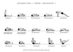 Yoga Chikitsa-1 (йога-чикица 1- первая Серия Аштанга Виньяса Йоги).основной целью является очищение организма, тренировка выносливости и силы, растягивание задней поверхности тела, раскрытие тазобедренных суставов, сжигание лишнего жира. http://www.kundalini.ru/vidy_jogi/yoga/ashtanga_vinyasa_joga/pervaya_seriya_ashtanga_vinyasa_joga/