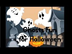 HALLOWEEN for kids - Fun with 5 little Ghosts