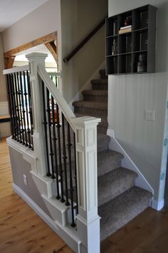 I Am Momma - Hear Me Roar: Stair Makeover with Annie Sloan Paint