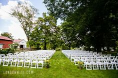 I can't imagine a better ceremony backdrop! Gilfillan Farm, located in Upper St. Clair, is now hosting weddings and private events!  More photos at: http://soireebysouleret.com/1222-a-new-pittsburgh-wedding-venue-gilfillan-farms/