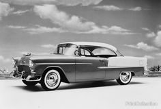 1955 Chevrolet Bel Air sport coupe 50,000,000th Car by GM.