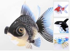 Free Printable 3D Paper Crafts | Sorry for taking so long, check out the site using banner below. Happy ...