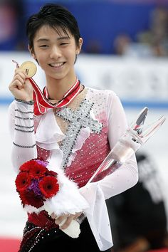 Yuzuru Hanyu  - Men's Figure Skating / Ice Skating dress inspiration for Sk8 Gr8 Designs.