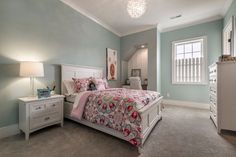 Wall Color: Sherwin Williams Watery SW-6478 Flooring: What's Happening E0928/510 Light Silver