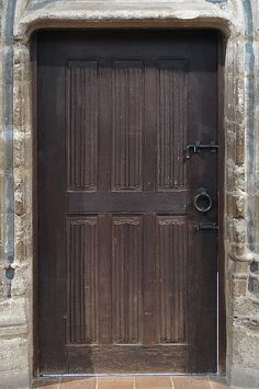Door  Date: 15th century Culture: French Medium: Oak