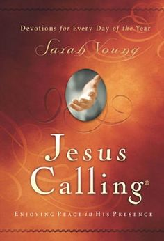 Jesus Calling: Enjoying Peace in His Presence-- I have tried over the years to do a daily devotion and have failed every time.  Just couldn't stay with it.  I either couldn't relate or just couldn't stay interested.  This one is different.  If you are looking for something to start your day with a scripture verse and a message to give you some positive direction this is the book for you.  I look forward to reading it every day.