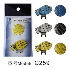 Golf ball markers with cap clips High Quality Outdoor Alloy accessorie Golfball, Golf Chipping Tips, Golf Training Aids, Womens Golf Shoes, Golf Accessories, Clips, Ladies Golf, Golf Tips, New Product