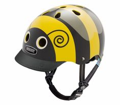 coolest bike helmets for kids: bumblebee by Nutcase is the cutest