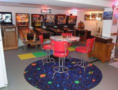 Game Room Man Cave full of Arcade Games! Game Room Man Cave full of Arcade Games! Man Cave Desk, Man Cave Shed, Man Cave Home Bar, Man Cave Basement, Man Cave Garage, Arcade Game Room, Arcade Games, Man Cave Quotes, Country Man Cave