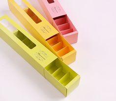 8个粒格装三色抽屉式马卡龙巧克力盒 糖果烘培包装礼盒 9.45/5个-淘宝网
