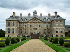 English country house fantasy collection - Belton House, Lincolnshire. The exemplar of the English country house.