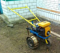 Walk Behind Tractor by Vyacheslav.Nevolya -- The finished product looks like.  walk-behind tractor will be used for cultivations, planting and digging potatoes and other work on the...