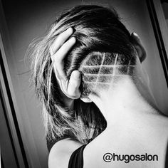 This #undercut was hidden under an awesome lob by @doug_theo. So fun. #hugosalon